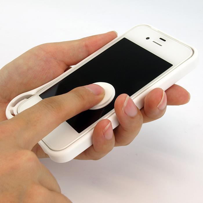いつもキレイに、iphoneの液晶画面をスッキリさせてくれるカバー『ワイプコイン フォー iphone4/4S』発売