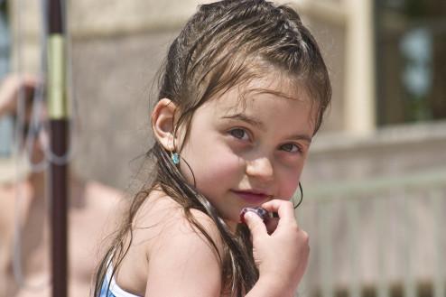 マンションでもアパートでも台所や洗濯機から分水してベランダで水遊びして夏を涼しく過ごそう