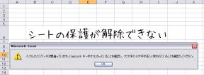 Excelでパスワードを忘れてもシートの保護を解除する極意