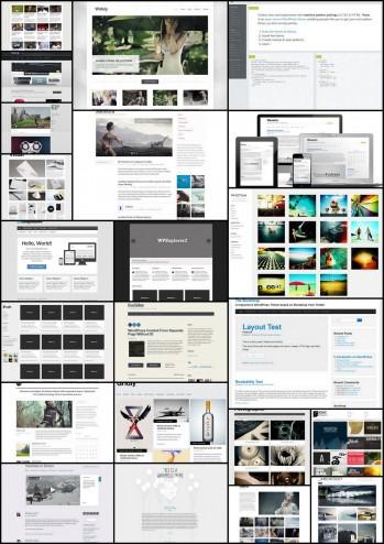 とってもシンプルで汎用性が高い無料のWordPressテーマ!厳選20個