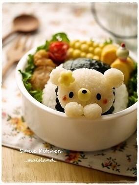 Pinterestで見つけたとっても可愛い『3Dキャラごはん』達、愛くるしい〜!
