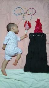 """子供の寝相がインスピレーションを刺激する!とても""""ほっこり""""『ねぞうアート』"""