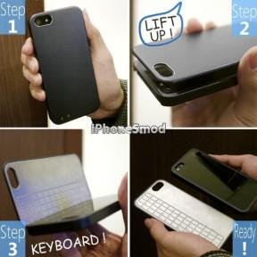 うぉ、iPhone専用でこんなCoolで魅力的なBluetoothキーボード見たことねぇ『EX Hybrid Controller for iPhone 5』