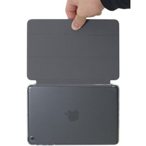 やっぱりiPadminiのケースはコレ!パワサポから「エアージャケットセット for iPad mini(クリア/Smart Cover対応版) 」発売!