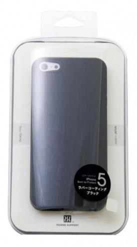 iPhone5に念願ケースのパワーサポートエアージャケットセットを装着してみた