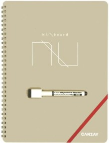 iPadに負けないぞ!ノート型ホワイトボード文具『NUboard(ヌーボード)』がイケてる