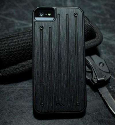 """豪傑軍人スタイル、見た目だけじゃない耐久性を備えた""""男の""""iPhone5ケース『CALIBER CASE for iPhone 5/5S』"""