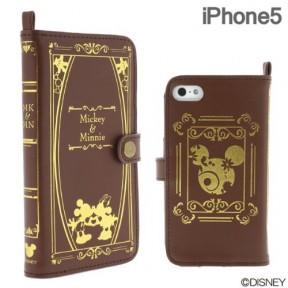 とってもキュートなディズニーのiPhone5ケース「Old Book Case for iPhone5」