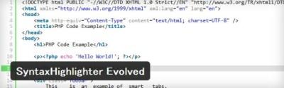 ソースコードをコピペしやすく紹介するならWordPressプラグイン「SyntaxHighlighter Evolved」がオススメ