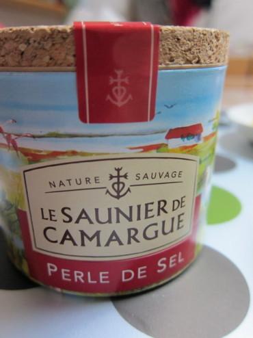 カマルグ産の塩
