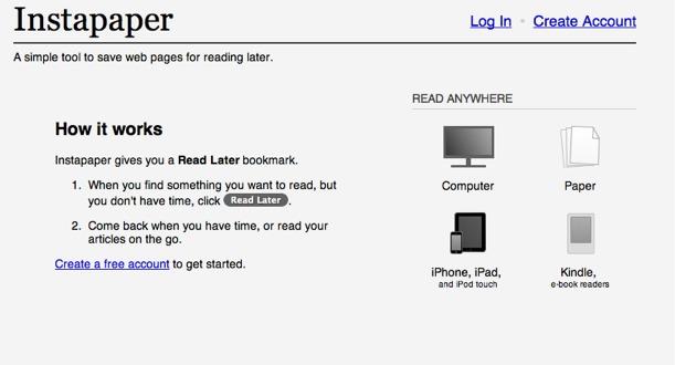 「Instapaper」でブックマークレットの登録がわからん!ipad初心者が戸惑う登録手順方法