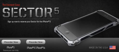 うおっ!超美麗なiPhone5ケース「ELEMENTCASE Sector 5 First Edition」が凄い