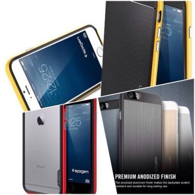 耐衝撃性と美しいデザインを合わせ持つ「Spigen」よりiPhone6ケース祭りだ!