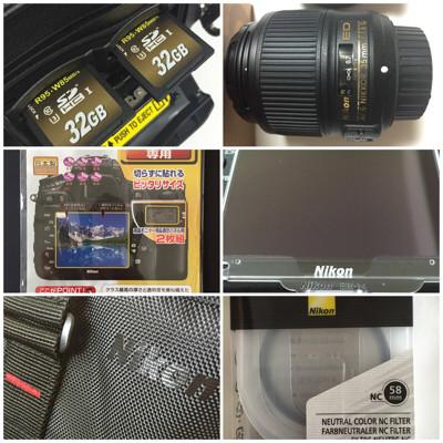 NikonD600(フルサイズカメラ)を手に入れたときに揃えたアクセサリーをご紹介