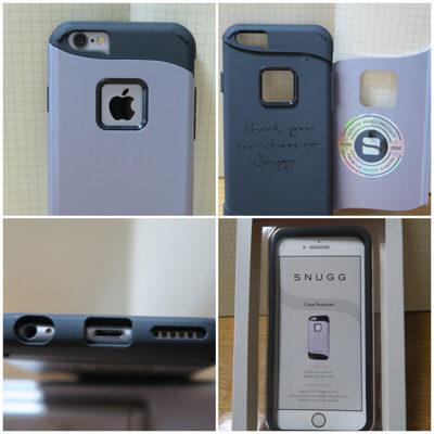 英国Snugg製のiPhone6用 ツーピースタイプ耐衝撃ケースをゲット!耐衝撃&デザイン性を兼ね備えたオシャレでクレバーなケース