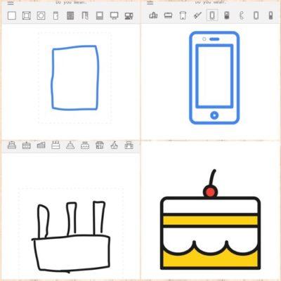 ねぇ、オシャレな無料アイコン素材探してる?もうそんな必要なし!Googleの新ツール「AutoDraw」が落書きをプロ並みの絵にしてくれる衝撃!