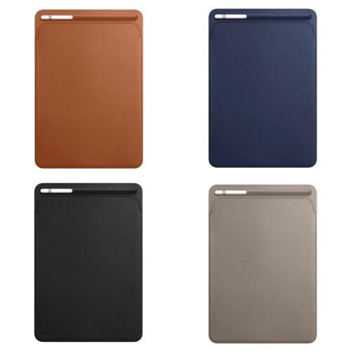 ちょっと高いな、、けど魅力的!「10.5インチiPad Pro用レザースリーブ 」が発売!Apple Pencilポケットがそそる!