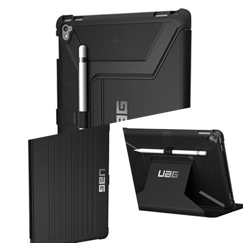 落下オーライ!耐久性太鼓判のiPad Proケース「URBAN ARMOR GEAR iPad 第5世代(2017)用 Metropolis Case ブラック」がカッコイイ!