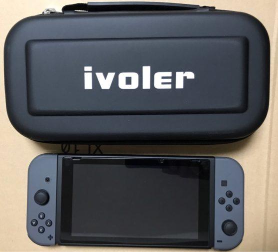 ニンテンドースイッチにオススメのクールな耐衝撃ハードケース「 iVoler収納ケース」をご紹介
