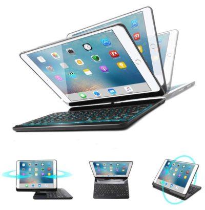 ユニークでオシャレな回転式iPadキーボードケース
