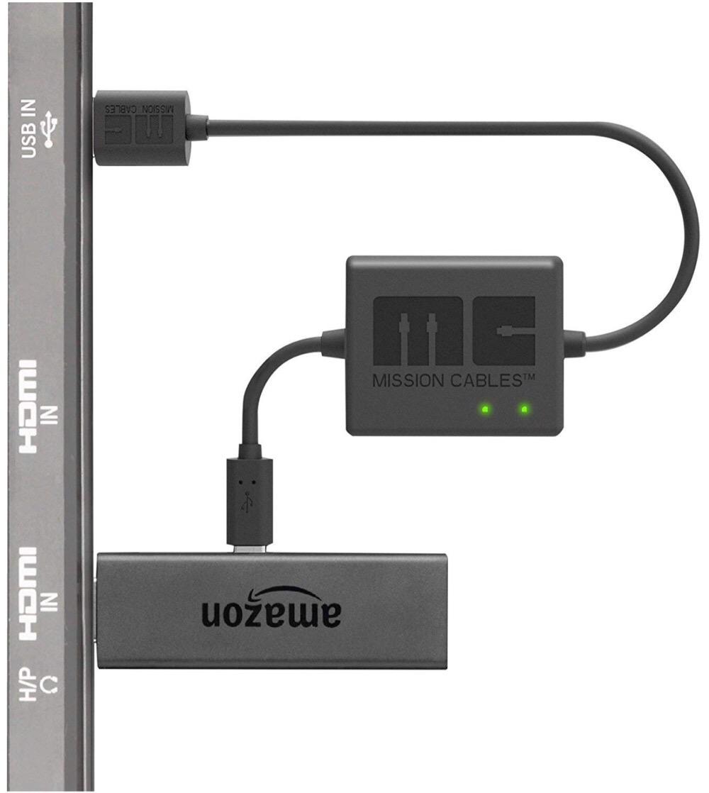 ケーブルジャングルから解放っ!USBポートからAC電源を使用せず利用可能なブーストケーブル