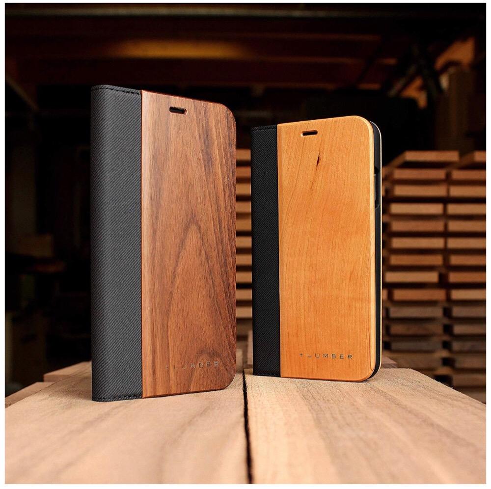 +LUMBER by Hacoa 手帳型の木製 iPhoneXS Max 専用ケース がオシャレすぎ!