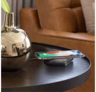 メッチャオシャレなワイヤレス充電器見つけたっ! 「iOttie」の部屋にとけ込むスタイルに惚れたよ