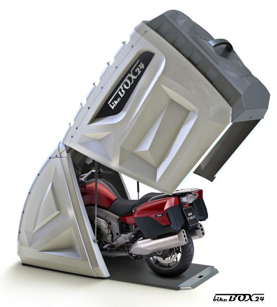 超本格派なバイク盗難防止アイテム『Bikebox24』これなら泥棒も持ってけねーぜ