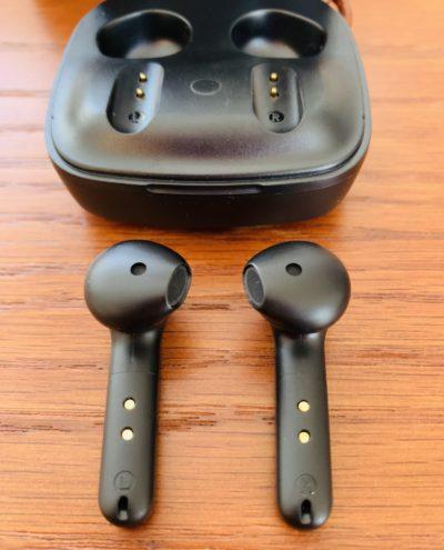COUMI ワイヤレスイヤホン インナーイヤー型イヤホン Bluetooth 5.0 高音質 12.5mmドライバー搭載 EQアプリ対応 ノイズキャンセリング通話(ENC) 瞬間ペアリング Type-C&ワイヤレス充電対応 最大32時間連続再生 IPX7防水 PSE・技適認証済 TWS-834A (ブラック)