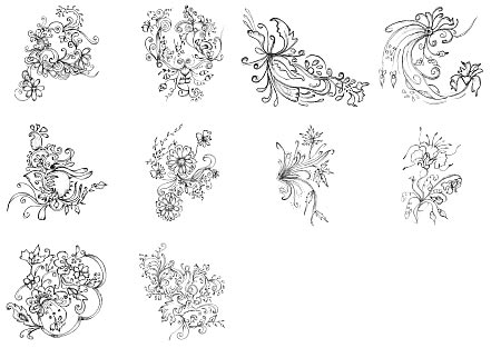 めっちゃ使いやすいイラストレーターのブラシセット25選 「25 Excellent Sets of Free Adobe Illustrator Brushes」