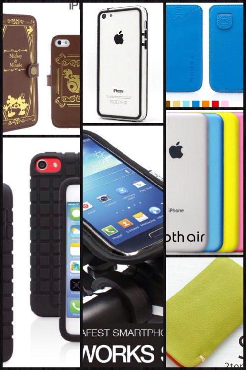 国内で今すぐ手にはいるイチオシのiPhone5cケースやバンパー 17選