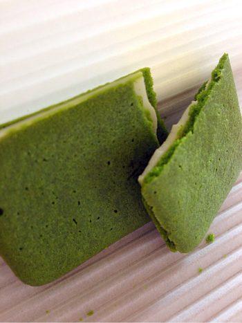 母の日にいかが?京都のお菓子、マールブランシュのお濃茶ラングドシャ(茶の菓)が心和む絶品