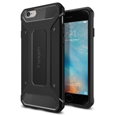 SpigenからiPhone6s用、本格的耐衝撃のウルトララギットケースをご紹介。特殊プレミアムTPU素材がすごい!
