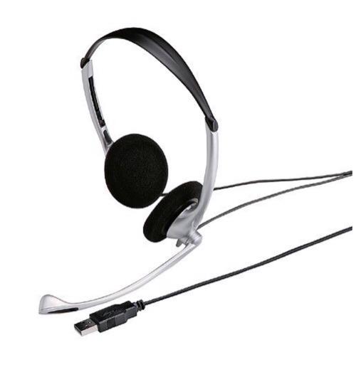 1年使って安定のヘッドセット「サンワサプライ USBヘッドセット/ヘッドホン シルバー MMZ-HSUSB10SV」がすこぶる快適