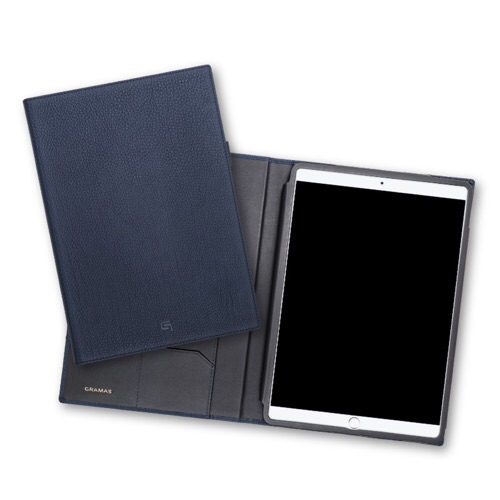 ホンモノ志向のiPad Proケース「GRAMAS Shrunken-calf Full Leather Case for iPad Pro 10.5 Navy」が6月中旬に発売!限定品だっ!