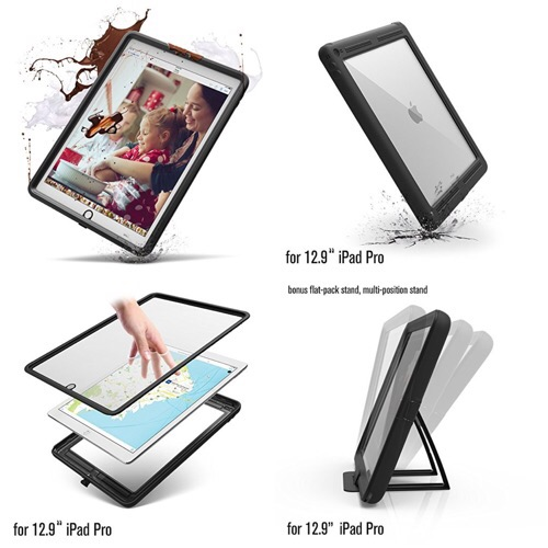 iPad ProをGショックのように使いたい?「Catalyst(カタリスト) Case for iPad Pro (12.9)」なら全シーン対応