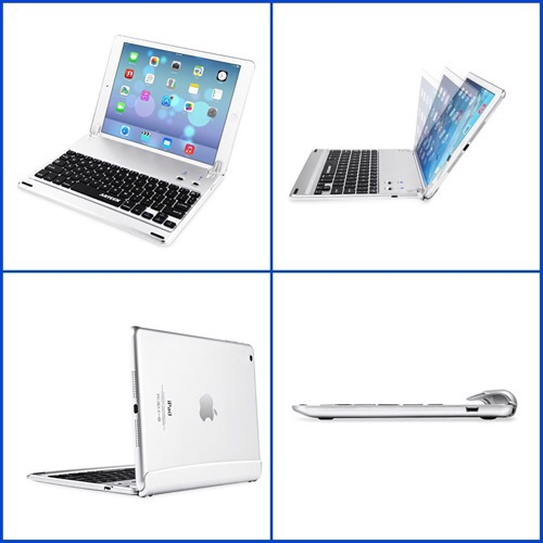 iPad Pro9.7用のキーボードケースで、まるでオシャレなノートパソコン化しちゃうアイテムを紹介