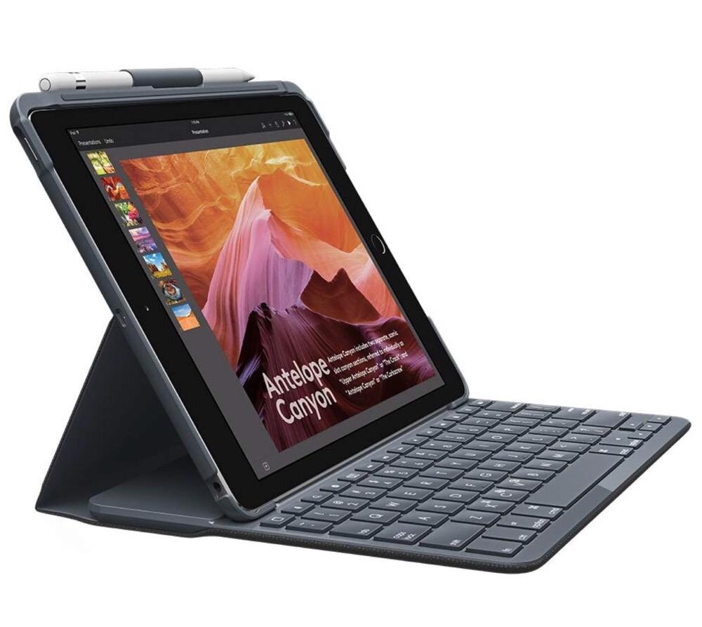 iPad9.7でも安心!ロジクールのiPadキーボードケースがいいとこ取りすぎるよ!