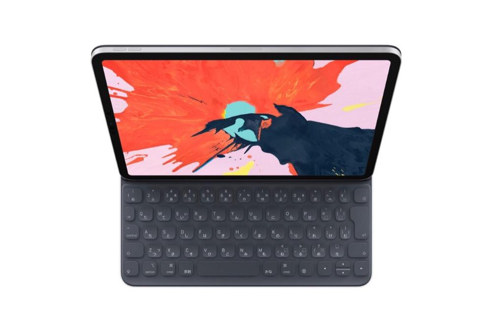 ヤバイ、iPad Pro11インチ用のSmart Keyboard FolioだけでiPad Proのプロテクトも完了だ!