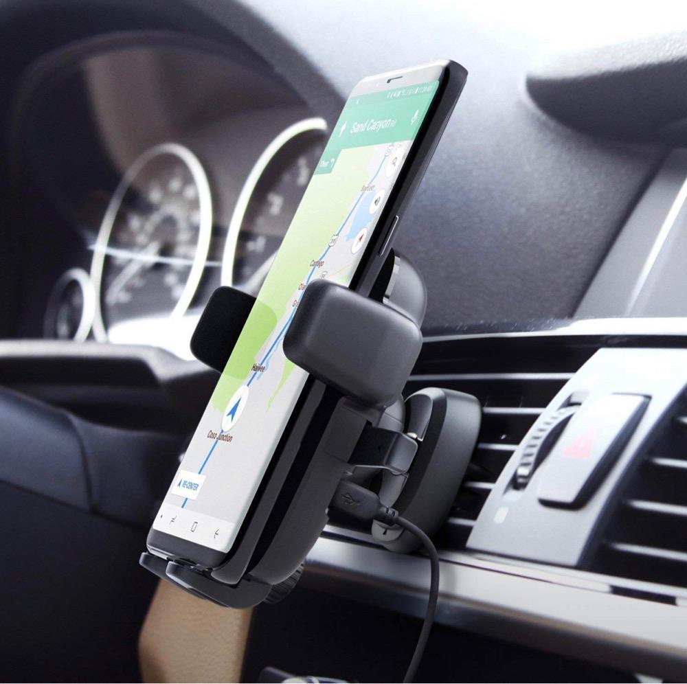 とっても使う人に優しい設計に感動「iOttie Easy One Touch Qi」でiPhoneをワイヤレス車内充電しながらドライブを快適に!