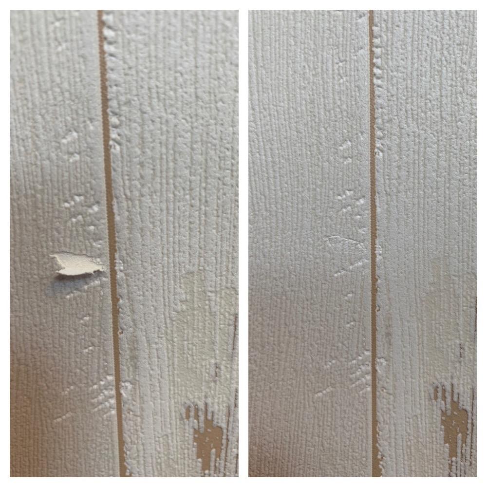 数センチの壁紙 クロス破れを簡単に修正するためのオススメツールは