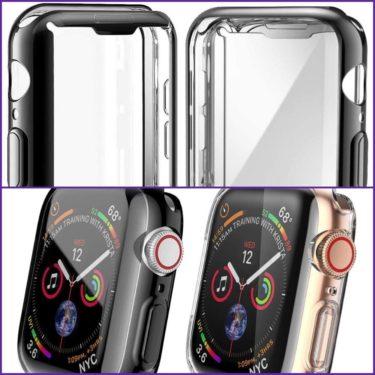 MisxiのApple Watch Series 5 / Series 4 40mm ケースがコスパ最高すぎ!保護フィルムもう要らない!