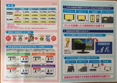 NHK受信料の支払いをお得にして約半額にする方法