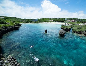 沖縄の海 旅行
